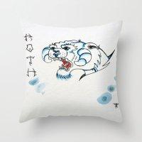 Hoth Taun Taun  Throw Pillow
