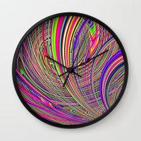 Re-Created  Hurricane 8 by Robert S. Lee Wall Clock