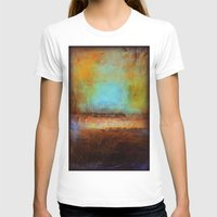 Swimming Womens Fitted Tee White SMALL