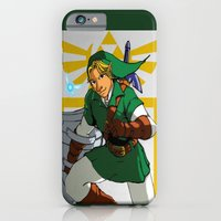 iPhone & iPod Case featuring The Legend of Zelda: Link by Shawn Norton Art