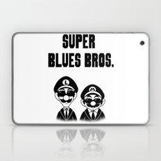 Super Blues Bros. (Black and White) Laptop & iPad Skin