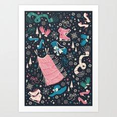 Frou Frou Art Print