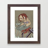 Part of your world Framed Art Print