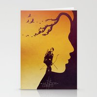 The Hunger Games Stationery Cards