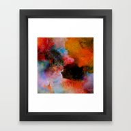 Framed Art Print featuring Somewhere In Yourself by Ganech Joe