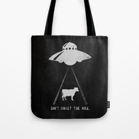 Don't forget the milk. Tote Bag