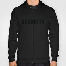 SECURITY TEE SHIRT (inverse edition) Hoody