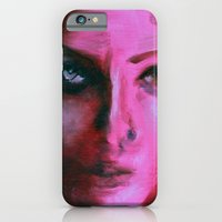 iPhone & iPod Case featuring THE PINK QUICK PORTRAIT by Maud Villers