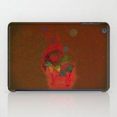 peaceful and happy iPad Case