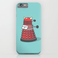 iPhone Cases featuring Exterminate Me (Dr Who) by See Mike Draw
