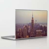 nyc Laptop & iPad Skins featuring NYC by Jessica McCourt