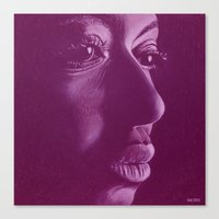 mama africa-violet Canvas Print