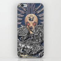 Dragons Skull iPhone & iPod Skin