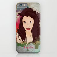 iPhone & iPod Case featuring Aneglia Jolie by ys7ven