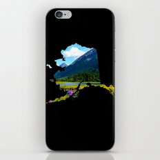 Alaska Outline - God's Country iPhone & iPod Skin