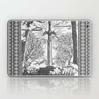 Legend of Zelda Master Sword Vintage Tarot Scene Laptop & iPad Skin
