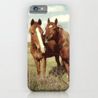 Horse Affection iPhone 6 Slim Case
