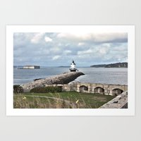 Spring Point Lighthouse Art Print