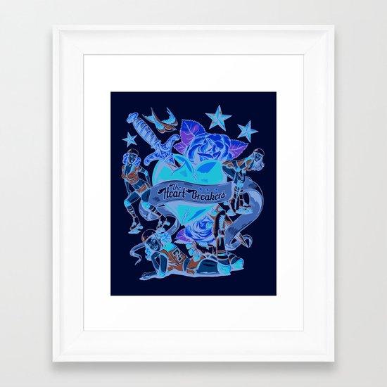 Heart Breakers Framed Art Print