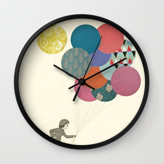 Party Girl Wall Clock