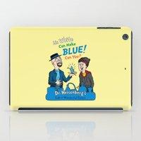 Mr. White Can Make Blue! iPad Case