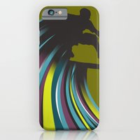 iPhone & iPod Case featuring Skater Dude by Mel Smith Designs...