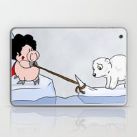 Saving the polar bears Laptop & iPad Skin