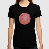 Houses In The Sunset Womens Fitted Tee Black SMALL