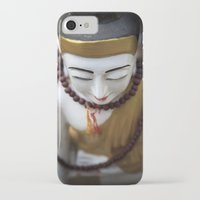 buddha iPhone & iPod Cases featuring Buddha by Maria Heyens