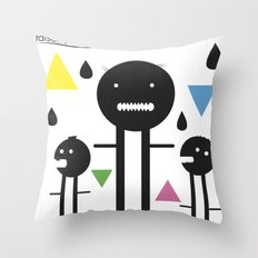 falsche sachen Throw Pillow