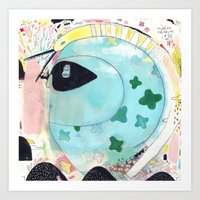 Julia.B Art Print