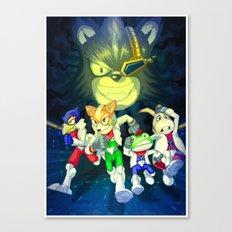 Run Fox, Run ! Canvas Print