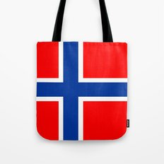 Norway country flag Tote Bag