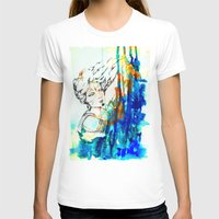 Tribal Beauty 4 Womens Fitted Tee White SMALL