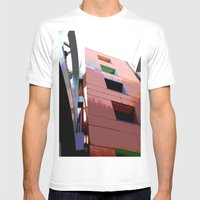 Blocks Mens Fitted Tee White SMALL
