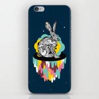 Space Rabbit iPhone & iPod Skin