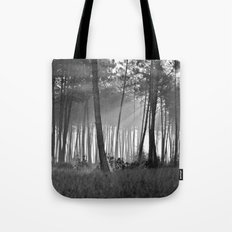 lumineuse brume Tote Bag