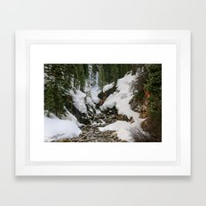 Winter's Beauty Framed Art Print