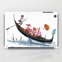 Pin up Venise iPad Case