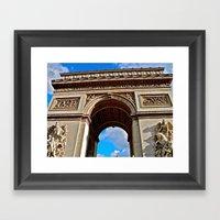 Arc De Triomphe: Paris, … Framed Art Print