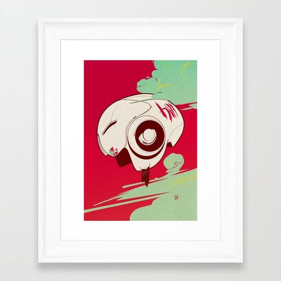 Helmet Framed Art Print