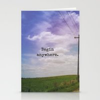 Begin Anywhere Stationery Cards