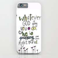God's Prepping You iPhone 6 Slim Case