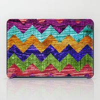 Natural Chevron Flow iPad Case
