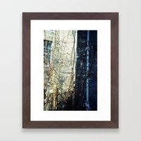 flower light Framed Art Print