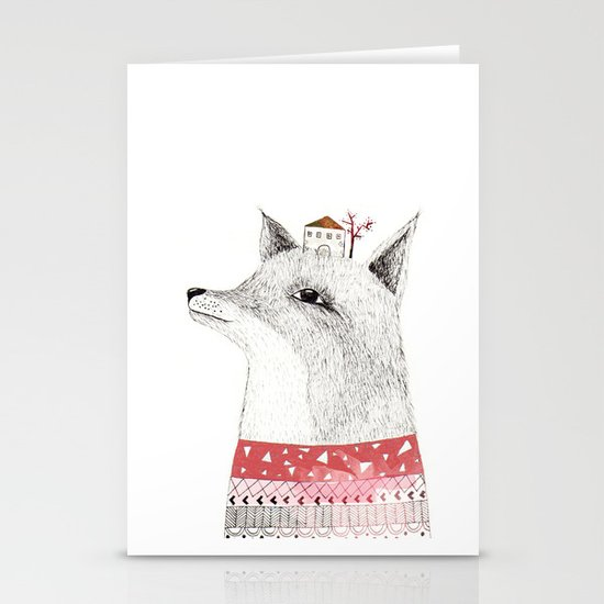 Mr. Fox Stationery Card