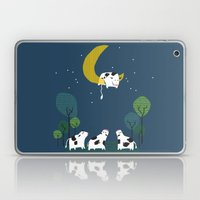 A cow jump over the moon Laptop & iPad Skin