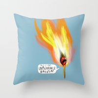 Life Gives You Lemons, and a Combustible Head Throw Pillow