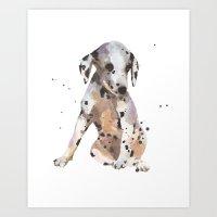 Dalmatian, Dalmatian Pup… Art Print