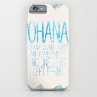 iPhone & iPod Case featuring OHANA by Sara Eshak